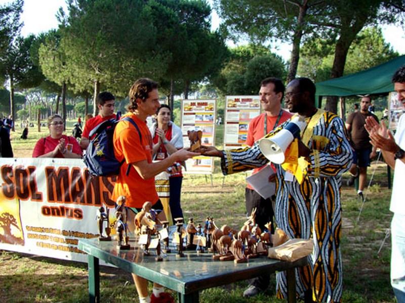 Consegna premio SOL MANSI Race
