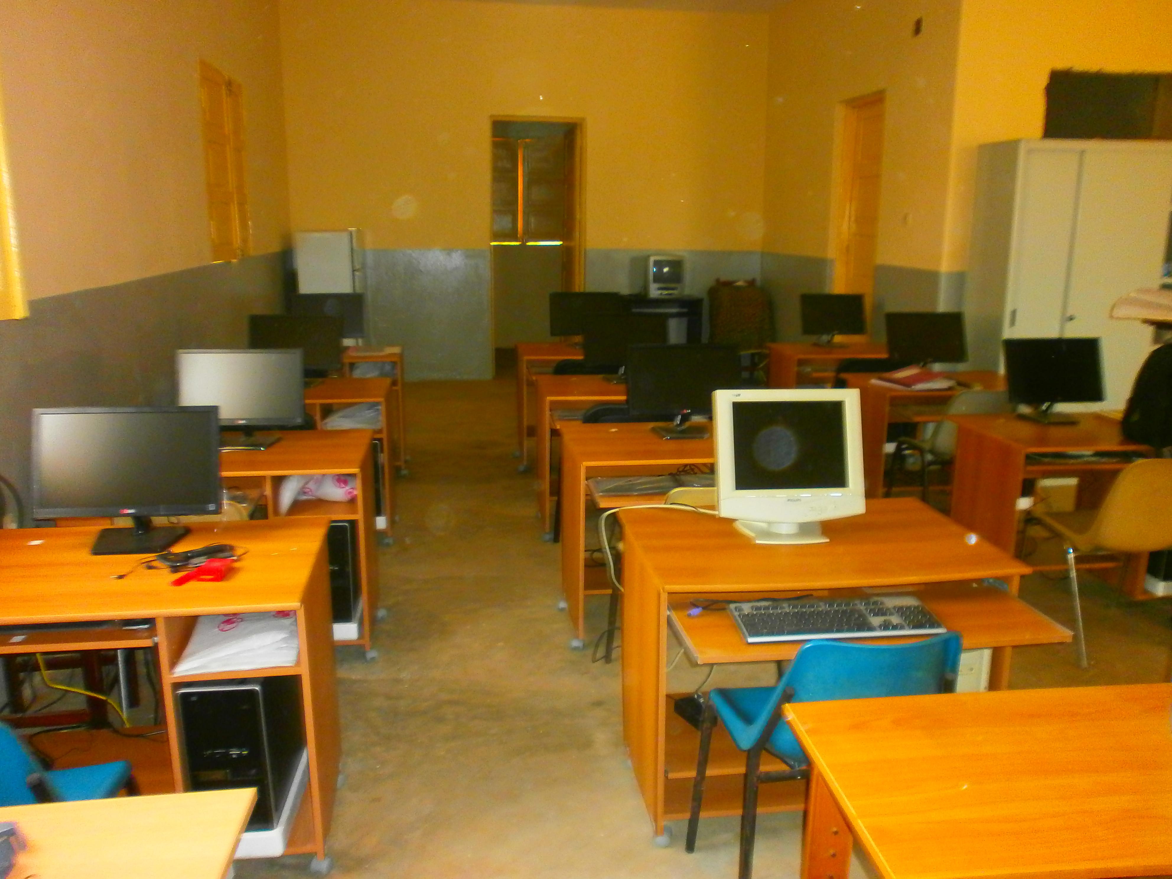 Aule informatiche scuola San Zeno