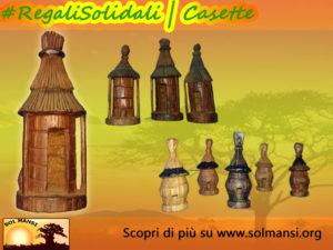 Regali Solidali Sol Mansi Onlus - Casette