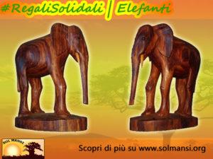 Regali Solidali Sol Mansi Onlus _ elefanti